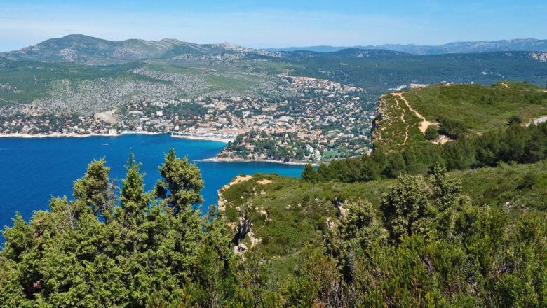 Cap Canaille und Bucht von Cassis