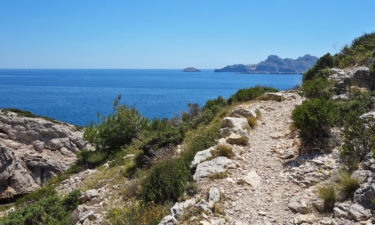 Wanderweg GR 98 im Calanques Nationalpark