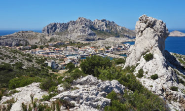 Les Goudes im Nationalpark Calanques