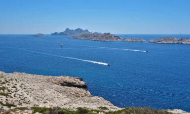 Boote vor der Île de Riou
