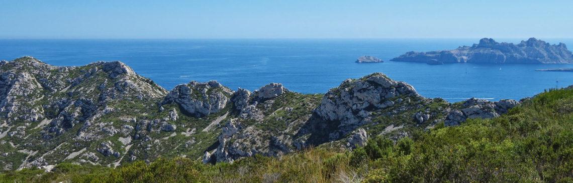 Wanderung im Calanques Nationalpark bei Marseille