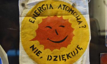 """""""Atomkraft? Nein danke!"""" im Solidarność Museum in Danzig"""