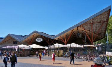 Markthalle Balti Jaama Turg am Baltischen Bahnhof in Tallinn