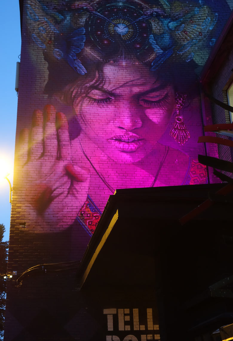 Street Art in der Telliskivi Creative City in Tallinn