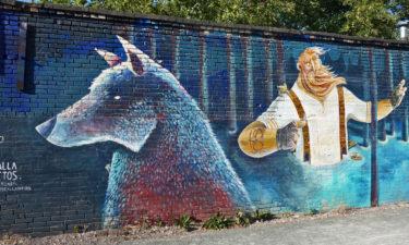 Street Art von Calladitos in Tallinn