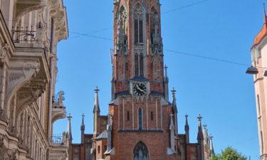 St.-Gertrud-Kirche in Riga
