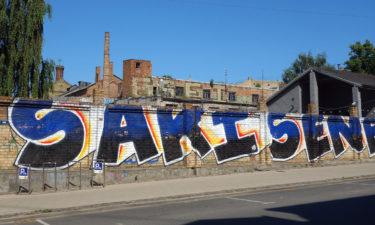 Street Art in Riga
