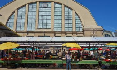 Zentralmarkt in Riga