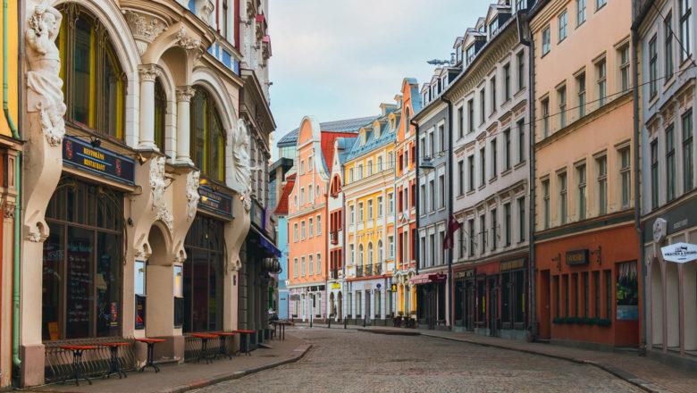Innenstadt von Riga | Foto von Alex Does Pictures von Pexels